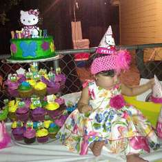 Natalias First Birthday Bash - Hello Kitty and Keroppi
