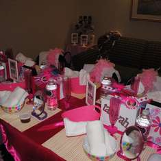 Jade's Diva Style Spa Party - Spa Party