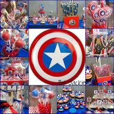 1 st birthday - Captain America