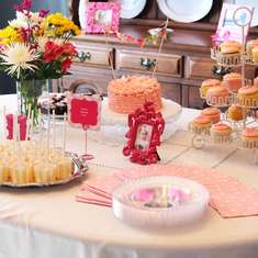 Hannah Kate's 1st Birthday Party - Pink