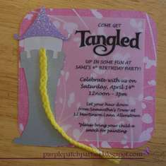 Disney's Tangled 4th Birthday Party - Rapunzel Disney's Tangled Inspired