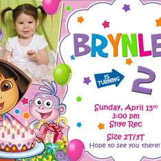 Brynlee turns 2!!! - Dora Themed Party