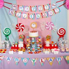 Candyland birthday party - Candy, Candyland, Candy Land