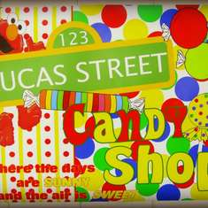 Lucas' 3rd Birthday on Lucas Street - Sesame Street Party