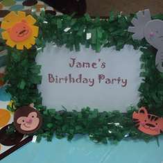 Jame's Baby Jungle Animals Birthday - Baby Jungle Animals