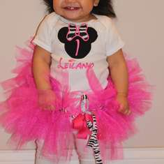 Leilany's 1st Birthday - Minnie Mouse