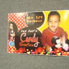 Jeremiah's 1st Birthday Party - Mickey Mouse Party