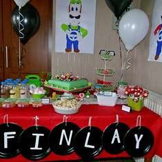 8th Birthday Party - Super Mario Brothers