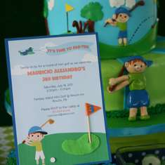 Golf Birthday Par-Tee - Golf