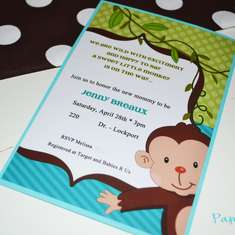 Little monkey   - It's a Boy!