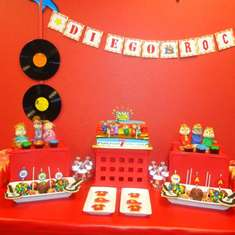 Diego's 7th Birthday Party - Alvin and the Chipmunks