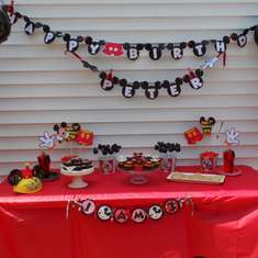 Peter's 3rd Birthday Celebration - Mickey Mouse