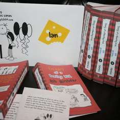 Diary of a Wimpy Kid Birthday Party - Diary of a Wimpy Kid