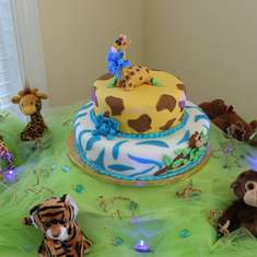Baby Boy Isaac's Jungle Themed Shower - Baby Jungle Animals