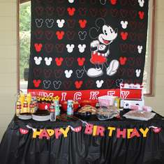 JHP's First Birthday - Mickey Mouse