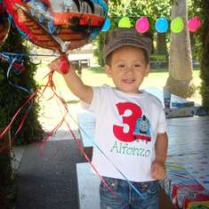 Alfonzo's 3rd Birthday Party - Thomas the Train