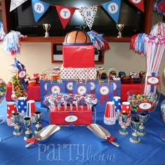 All-Star Birthday Party - Sports