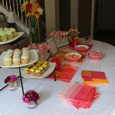 Baby B's Summer Baby Shower - Brunch