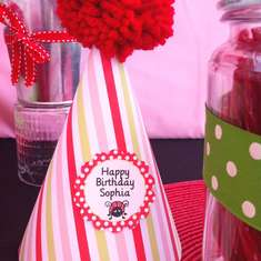 Little Lady Bug Party - Lady Bug Birthday