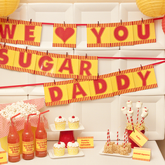 "We Love You, Sugar Daddy! - A ""Sugar Daddy"" Inspired Father's Day"