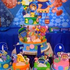 Gelo's Umizoomi 2nd Birthday Party - Team Umizoomi