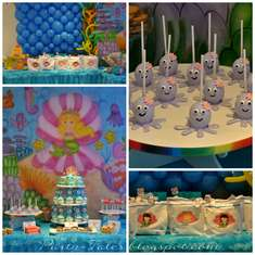 Memaid Under the Sea Party - Mermaid Under the Sea