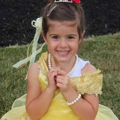 Sydney's 4th Birthday - Princess Belle Party