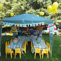 SpongeBob Water fun Party - Spongebob Square Pants