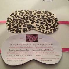 Kiara's Cheetah-licious Sparty - Homemade Spa Salon