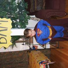 Marcus' superhero party - Superman