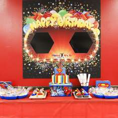 Aston's 5th Superhero Birthday Party - Superheroes!!!