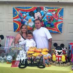 Mikeys 2nd B-day Basg - Mickey Mouse