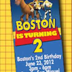 Boston's 2nd Birthday Party - Woody's Roundup {inspired by Toy Story}