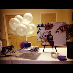A Fabulous Graduation Celebration!! - Purple & White