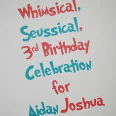 A Whimsical, Seussical 3rd Birthday Celebration! - Dr Seuss' Cat in the Hat