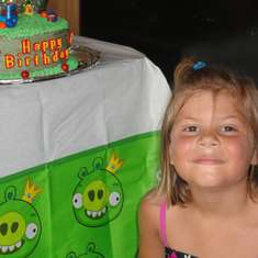 Maddie turns 5! - Angry Birds