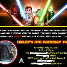 Darth Bailey's War of the Stars - Star Wars / Jedi Training Academy