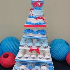 Genesis Baby Shower - Sailor Baby Shower