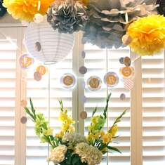 Yellow & Grey Bridal Shower - Yellow & Grey