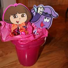 Jocelyn's 3rd Birthday - DORA! - DORA