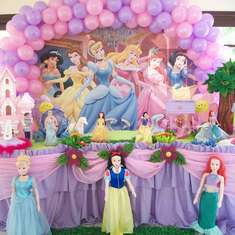 Princesses -  Party of Gisele - Princesses