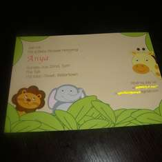 Safari/Jungle baby shower - Jungle, Safari, Animals,