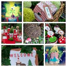 Backyard Woodland Party - Woodland