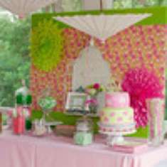 Susan's 40 and Fabulous Birthday! - Lilly Pulitzer Garden party