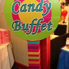 CandyLand Baby Shower with  Grown up Twist - Candy Land