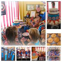 Captain America Birthday - Captain America
