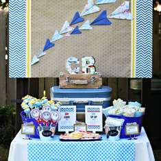 Vintage Airplane Birthday! - Airplane