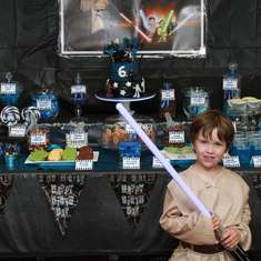 Jedi Nate's Star Wars adventure - Star Wars Lego