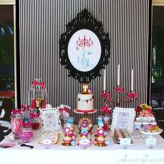 Alice in Wonderland 7th Birthday Party - Alice in Wonderland, Mad Tea Party