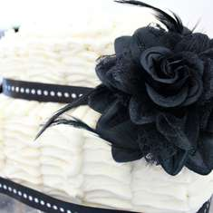 1920's Inspired 20th Birthday Party - 1920's Black & White Glam